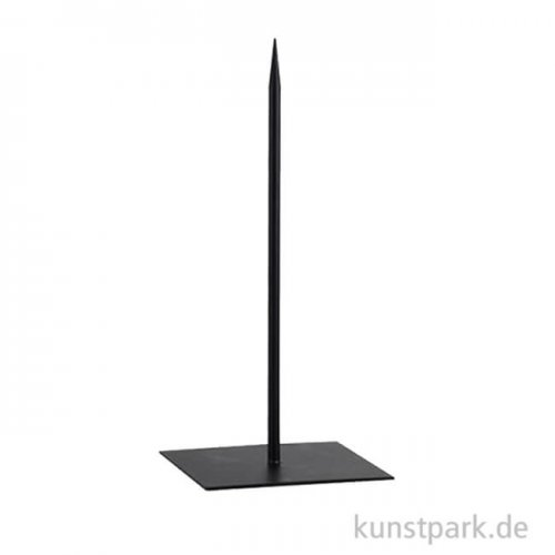 Metallsockel schwarz, Höhe 40 cm