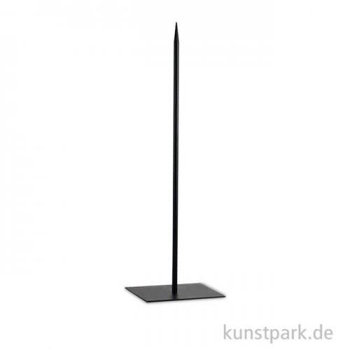 Metallsockel schwarz, Höhe 60 cm