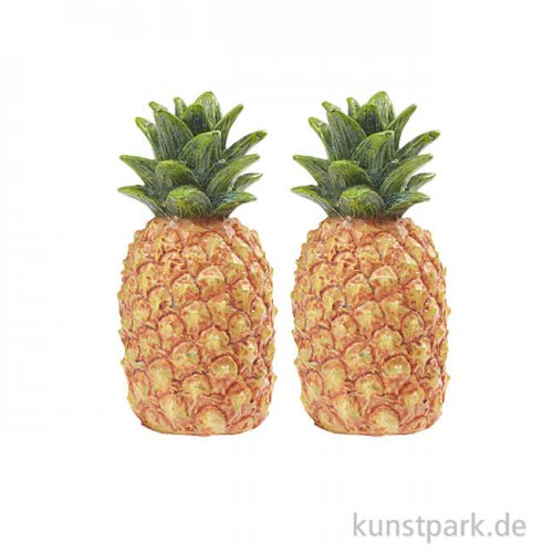 Mini Ananas, 3,5 cm, 2 Stück