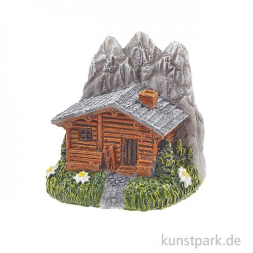 Mini Berghütte, 4 cm