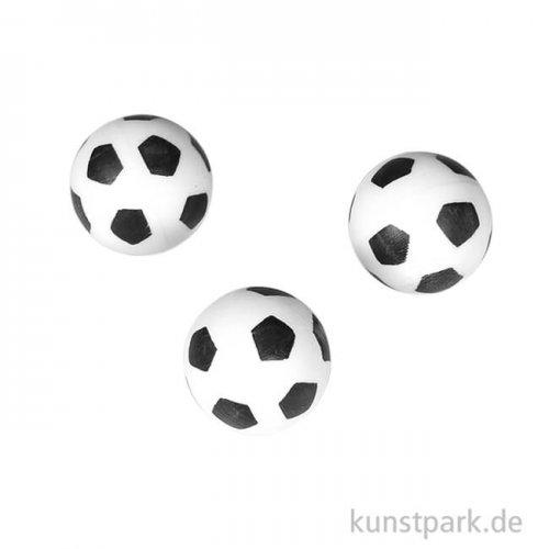 Mini-Fußball, 15 mm, 3 Stück
