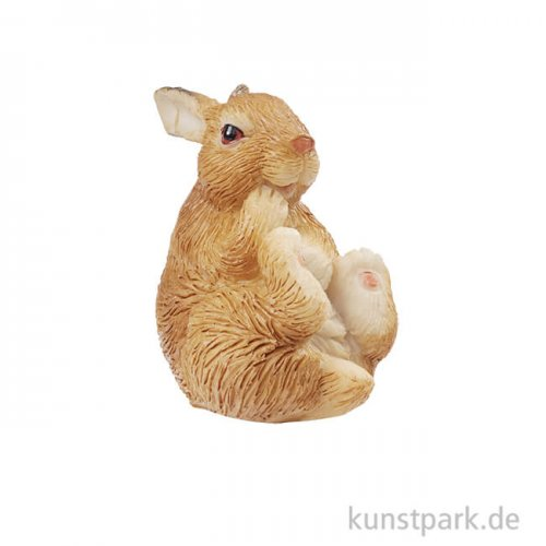 Mini Hase - Braun, 4 cm
