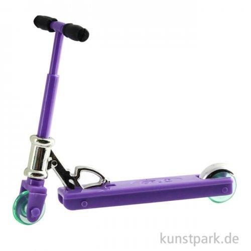 Mini Kickboard PVC, Violett, 6 cm