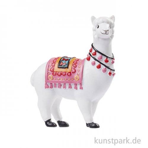 Mini Lama stehend, 6,5 cm
