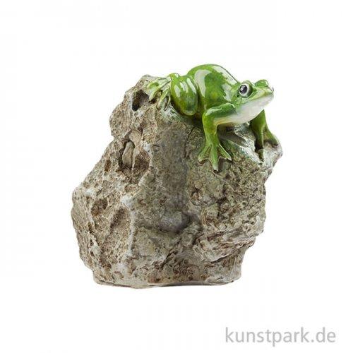 Mini Laubfrosch auf Fels, 4,5 cm
