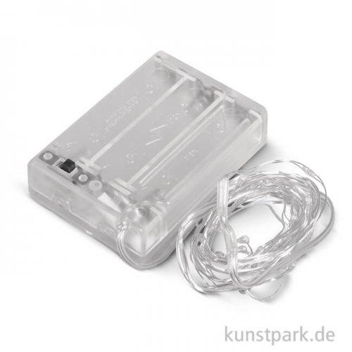 Mini LED-Lichterkette für Innen, 190 cm weiß