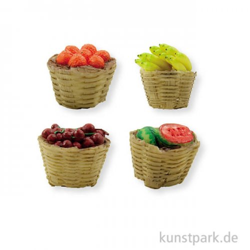 Mini-Obstkorbset 3,5 cm