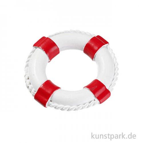 Mini Rettungsring - Rot-Weiß, 4,5 cm