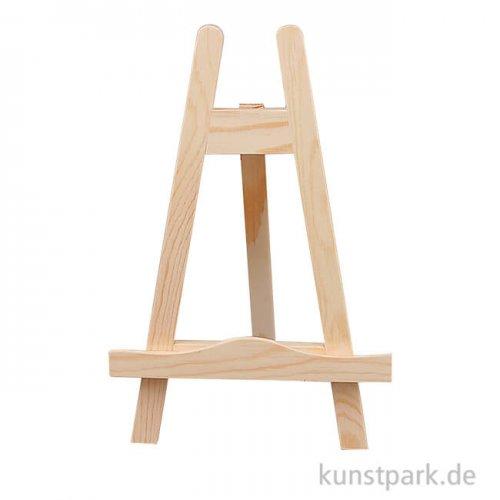 Mini-Staffelei aus Holz mit einer Höhe von 25 cm