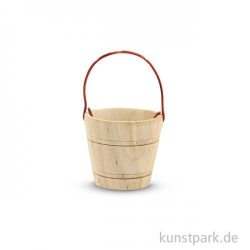 Miniatur-Holzkübel, 3 cm