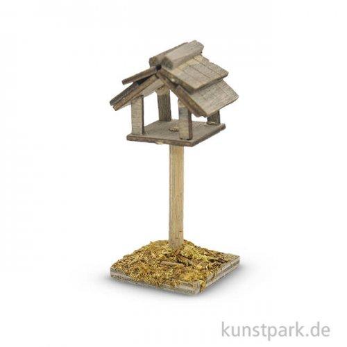 Miniatur-Vogelhaus, 6,5 cm