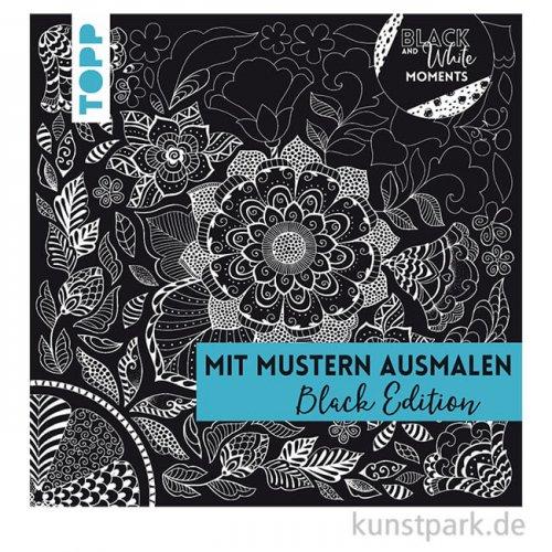 Mit Mustern ausmalen - Black Edition,  Topp Verlag