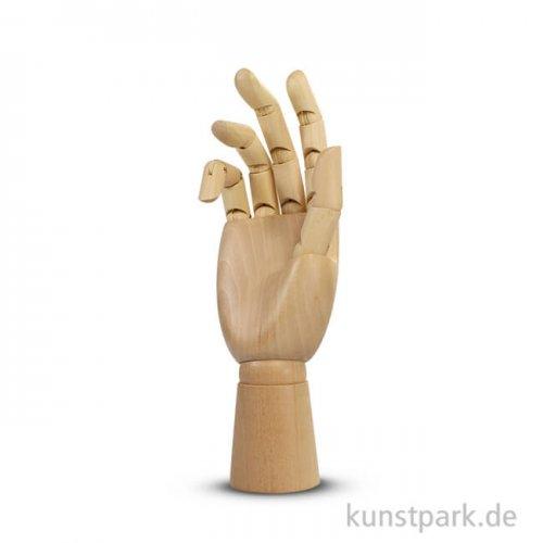 Weibliche Modellhand aus Holz