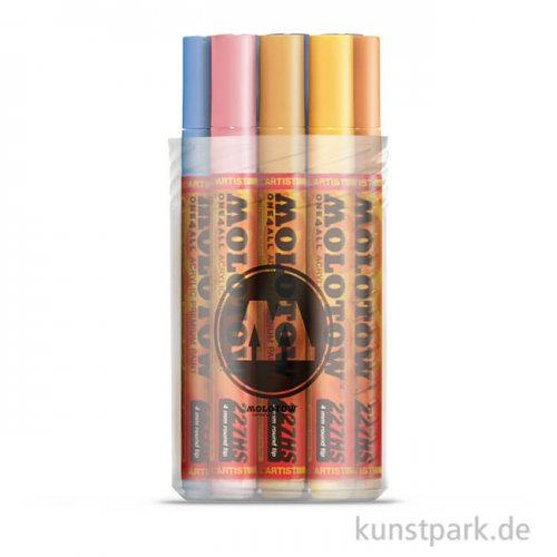 Molotow ONE4ALL Marker - 227HS Pastel-Kit