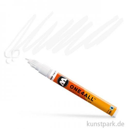 Molotow ONE4ALL Marker - HS-EF160 1 mm 1 mm | Signalweiß