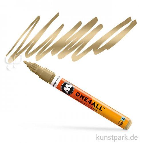 Molotow ONE4ALL Marker - 127HS 2 mm Einzelfarbe   Metallic gold