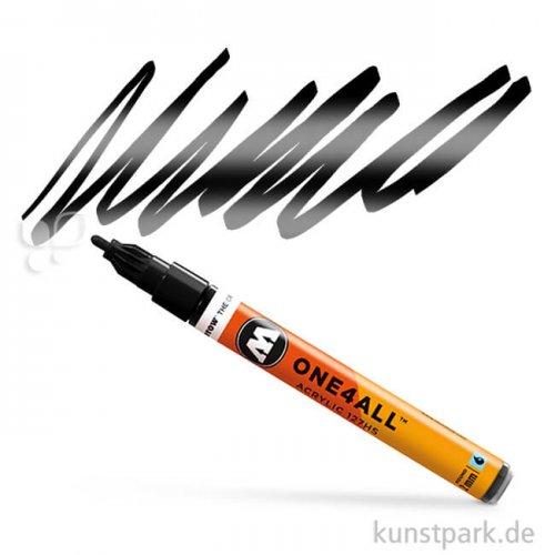 Molotow ONE4ALL Marker - HS127 2 mm 2 mm | Metallic schwarz