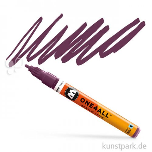 Molotow ONE4ALL Marker - HS127 2 mm 2 mm | Purpurviolett