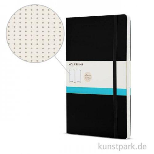 MOLESKINE Notizbuch Softcover - Schwarz - Dotted, 192 Seiten