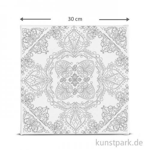 Motiv-Keilrahmen Mandala, 30x30 cm