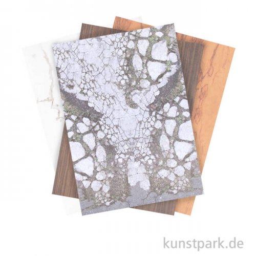 Motivpapier Block - Architektur, 30 Blatt