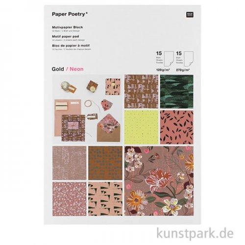 Motivpapier Block - Nature Matters, 30 Blatt