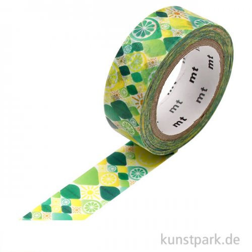 MT Masking Tape Citrus, 15 mm, 7 m Rolle