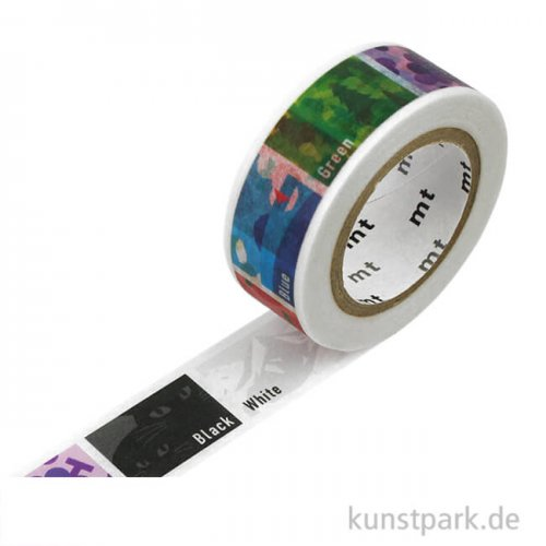 MT Masking Tape Colors - 15 mm, 7 m