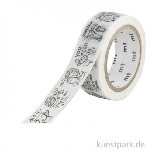 MT Masking Tape, Cup Of Therapy, 15 mm, 7 m Rolle