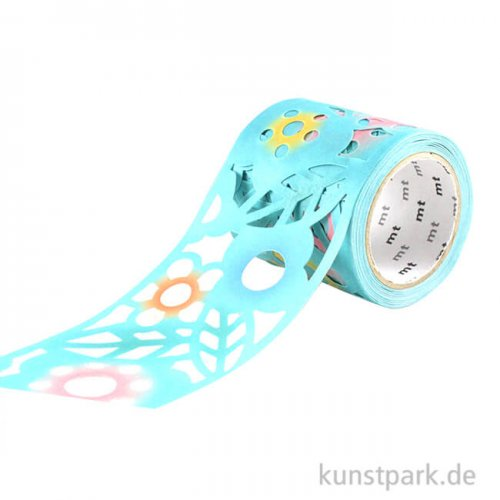 MT Masking Tape, Cutout Flower, 45 mm, 3 m Rolle