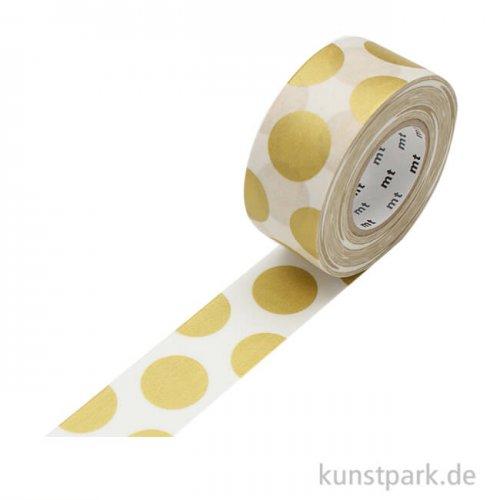 MT Masking Tape Dot Gold - 25 mm, 15 m Rolle