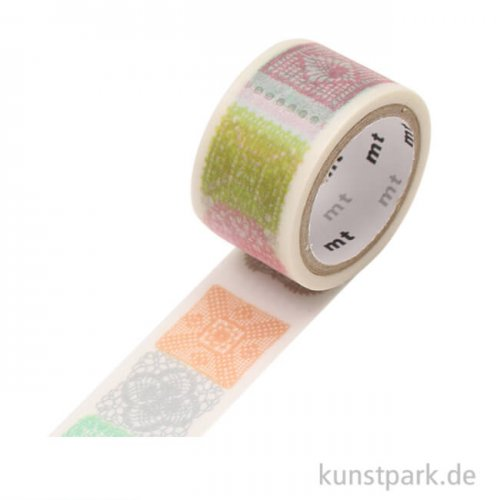 MT Masking Tape Fab Crochet - 20 mm, 3 m Rolle
