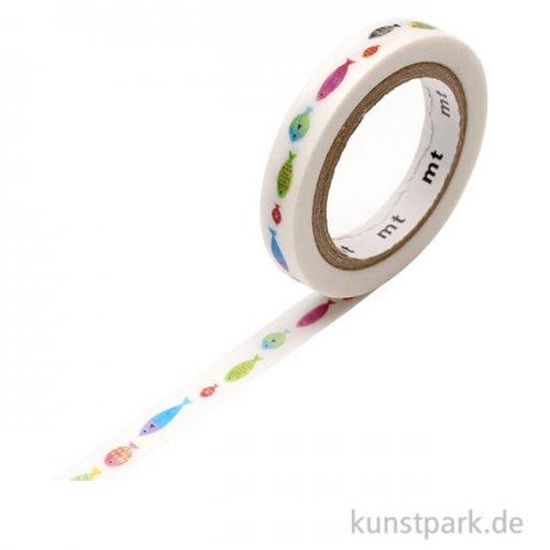 MT Masking Tape Fisch Linie, 7 mm, 7 m Rolle