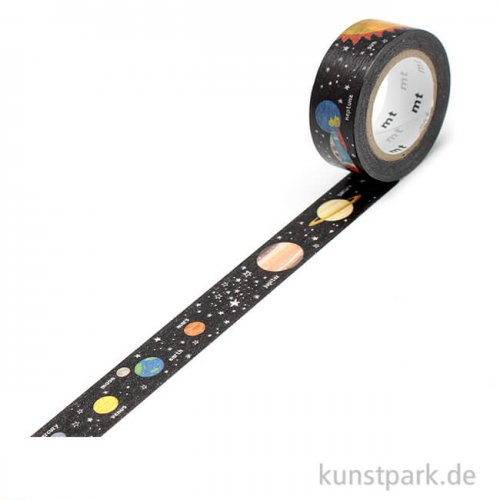 MT Masking Tape Planet - 15 mm, 7 m Rolle