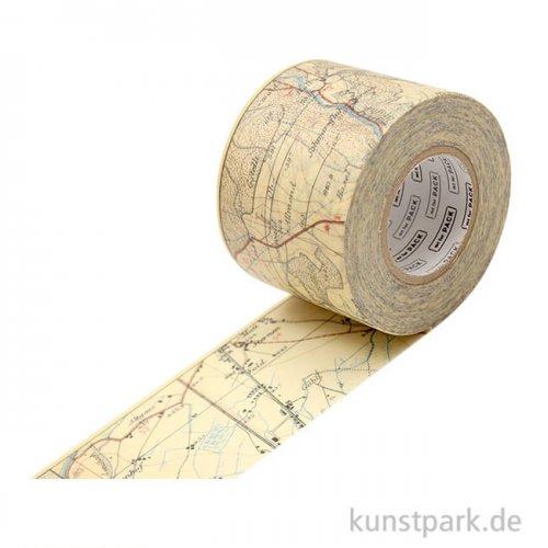 MT Masking Tape Vintage Map, 45 mm, 15 m Rolle