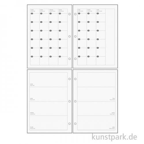 My Planner - Monats-/Wochenübersicht Basic, DIN A5, 96 Blatt