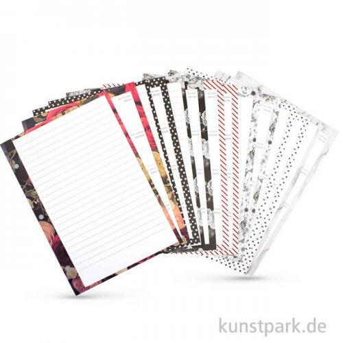 My Planner - Monats-/Wochenübersicht Gemustert, DIN A5, 96 Blatt