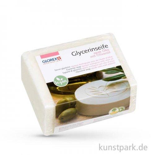 Olivenöl - Öko Glycerin-Seife - opak 500 g