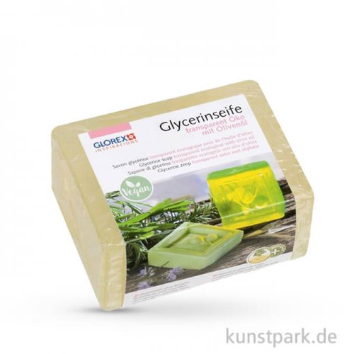 Olivenöl - Öko Glycerin-Seife - transparent 500 g