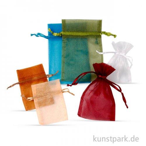 Organzabeutel Farben-Mix, 30 Stück sortiert