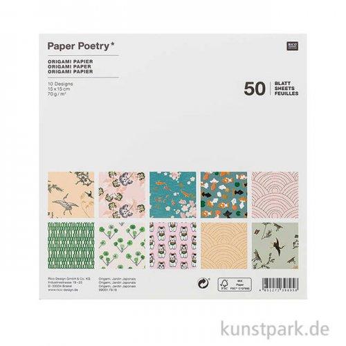 Origami Papier - Jardin Japonais