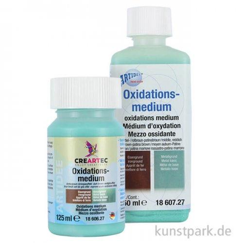 Oxidationsmittel - Mittel-Rotbraun bis Patinabraun