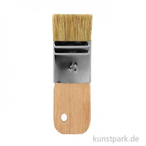 Paddle Pinsel aus Naturborsten 2,5 cm