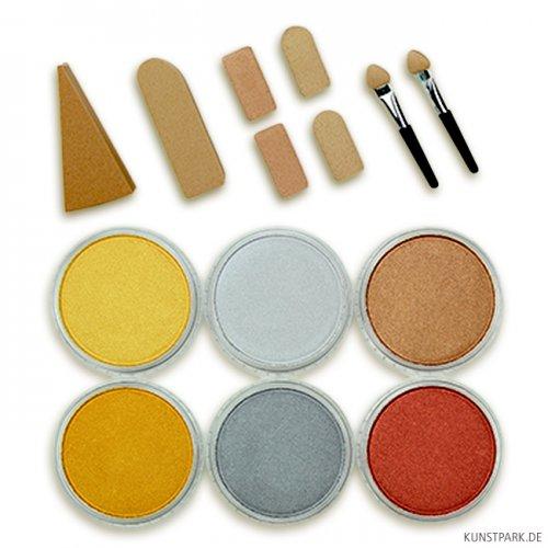 PanPastel Metallic-Set - 6 x 9 ml Metalltöne