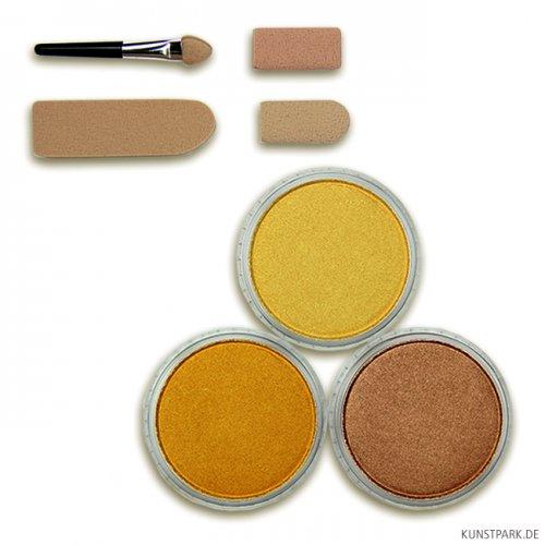 PanPastel Metallic-Set - Bleichgold, Klassischgold, Bronze & Zubehör