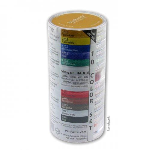 PanPastel Set mit 10 Farben - Universal Malen