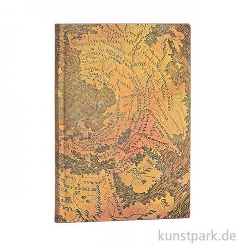 PAPERBLANKS FLEXI Notizbuch - Hunt-Lenox-Globus