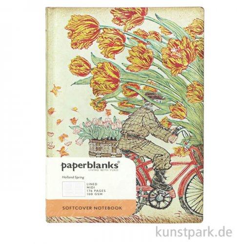PAPERBLANKS FLEXI Notizbuch - Im Leben mit Yuko, Frühling in Holland