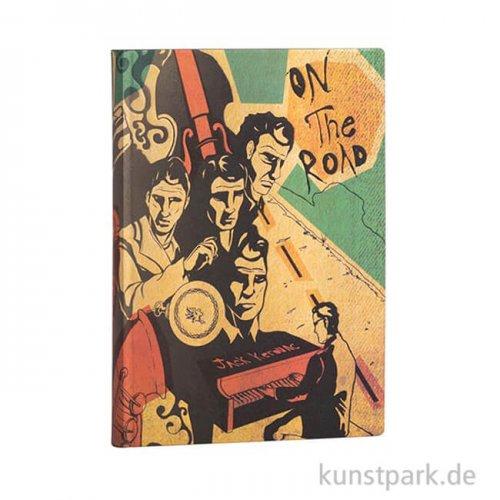 PAPERBLANKS FLEXI Notizbuch - Jack Kerouac - On the Road