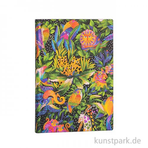 PAPERBLANKS FLEXI Notizbuch - Laurel Burch - Jungle Song